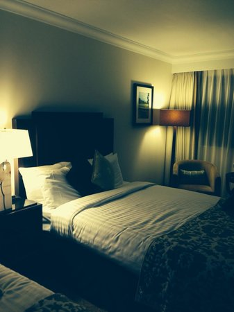 Marriott Forest of Arden Hotel & Country Club: Two double bed room, very comfortable for family of three