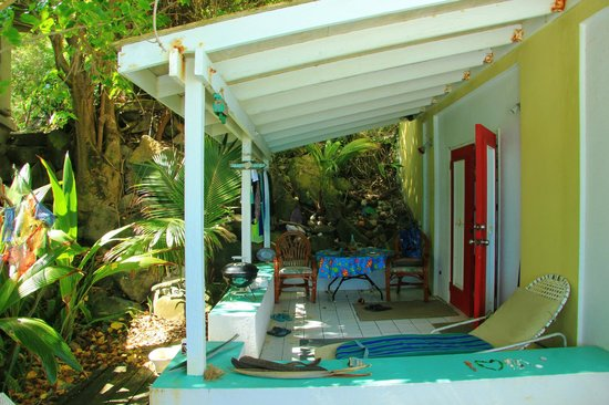 Chateau Relaxeau Caribe: CRC patio