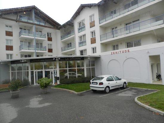 Zenitude Hôtel-Residences La Versoix : بوابة الدخول