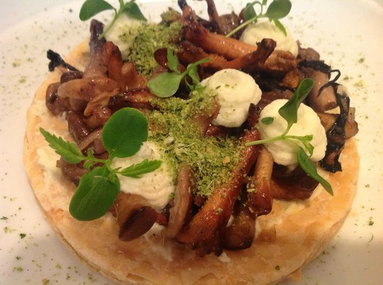 Ghent Marriott Restaurant: Gerecht met boschampignons