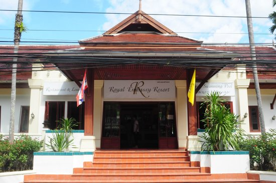 The Pe La Resort : Main entrance
