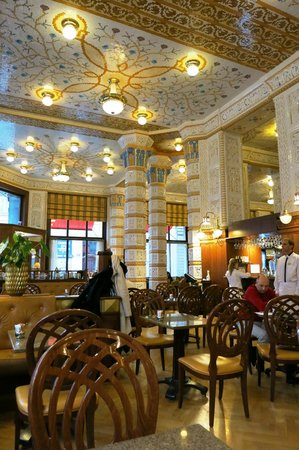 Art Deco Hotel Imperial: Das Cafe Imperial