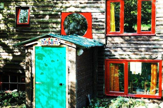 Loch Voil Hostel: the haybarn