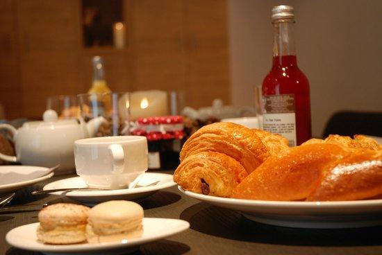 Le Grand Chalet & Spa : Petit déjeuner gourmant