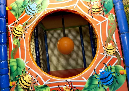 Funky Monkeys Play Center - Lower Parel: Spiders Web