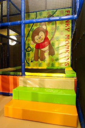 Funky Monkeys Play Center - Lower Parel: Trampoline