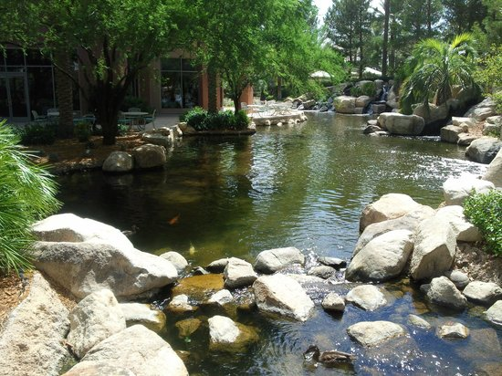 JW Marriott Las Vegas Resort & Spa: Территория отеля