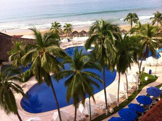 Krystal Ixtapa: Vista desde la habitación