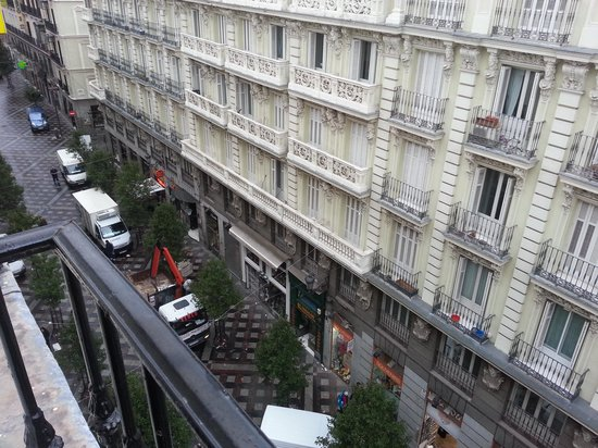 Hostal Rober: balcony west view