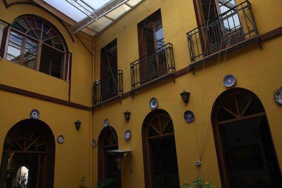 Hotel Mezquita: Terraza interior