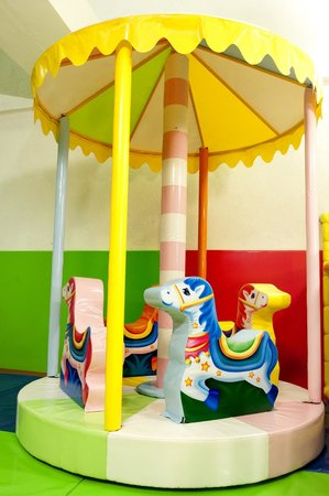 Funky Monkeys Play Center - Lower Parel: Mini Carousel
