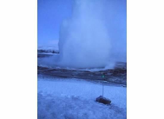 Gray Line Iceland: Geysir geothermal field (near Geysir)