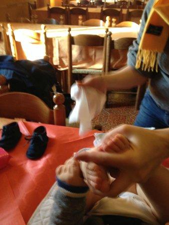 Hotel Villa Elda: il cambio baby nel ristorante