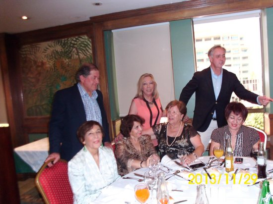 La Fattoria: Celebrando el termino de actividades del adulto mayor