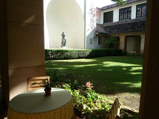 Honolulu Museum of Art : セントラルコートヤード