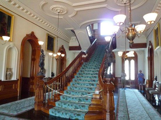 Iolani Palace : 大階段