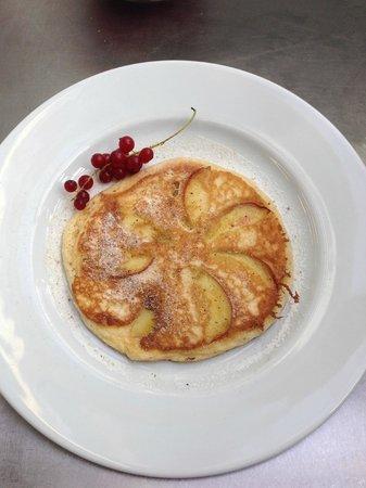 PizzaPasta e basta: Frühstücks Pfannekuchen mit Äpfel