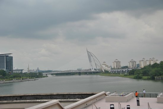 Seri Wawasan Bridge, Putrajaya : Putrajaya, Malaysia