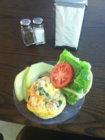 The Living Room Coffeehouse and Winebar: Happy Egg Sandwich