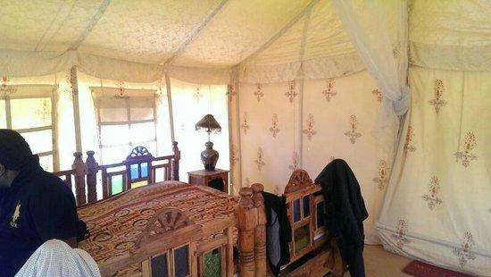 Ratnawali Camps: Inside tent