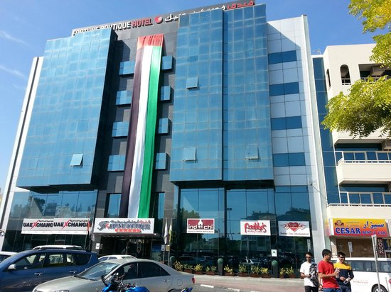 Room we stayed in picture of saffron boutique hotel for Saffron boutique hotel dubai location