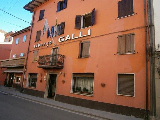 Veduta esterna d'insieme - Foto di Albergo Galli, Pievepelago ...