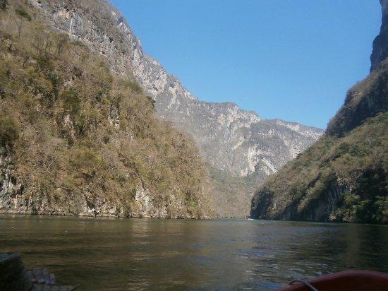 Sumidero Ecotourism Park: Impresionantes vistas deleitan la mirada del visitante.