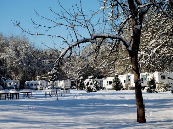 Deerwood RV Park: Deerwood Dec 2013