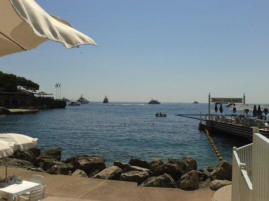 Monte-Carlo Beach: Vista do Beach Club