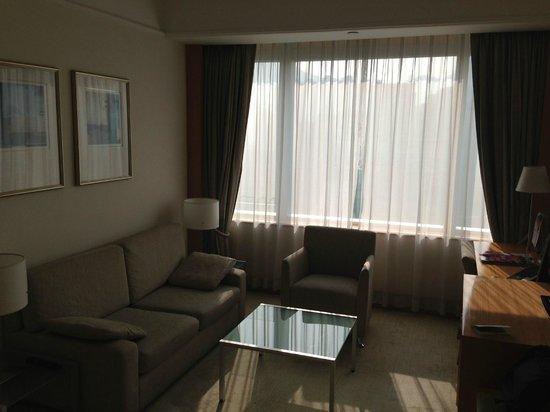 Metropark Hotel Causeway Bay Hong Kong: Гостиная