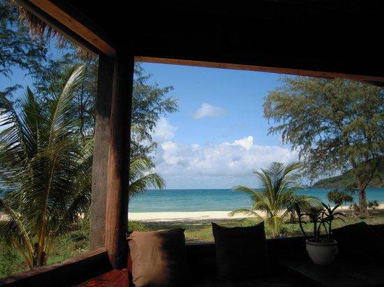Lazy Beach: Restaurantausblick
