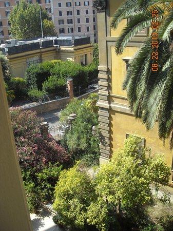 Hotel Londra And Cargill: Pleasant Room View, Hotel Londra & Cargill, Rome