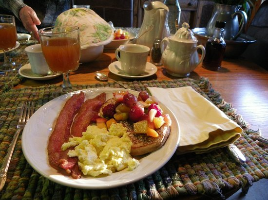 Cloverdale: Delicious breakfast