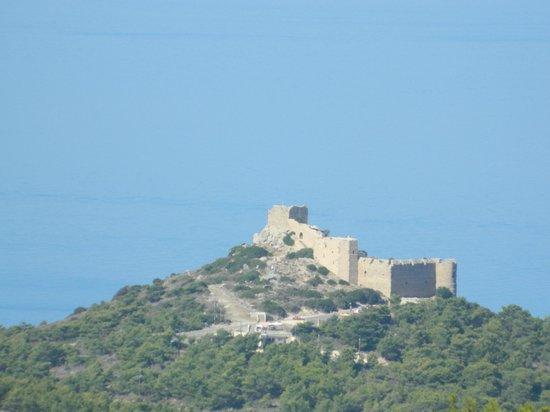 Kritinia Castle: издалека