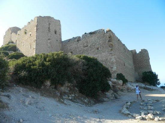 Kritinia Castle: вблизи