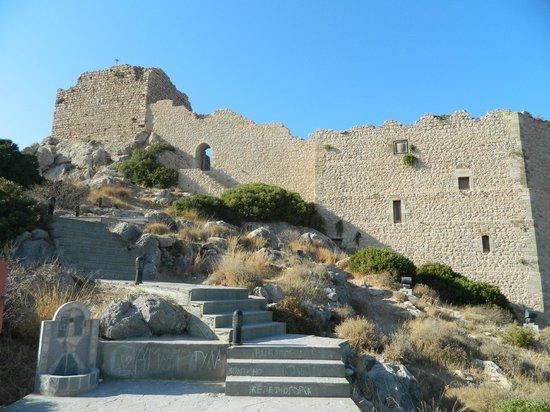 Kritinia Castle: подъем