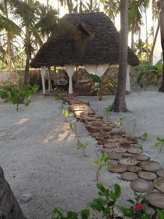 Next Paradise Boutique Resort : This is where I had my massage