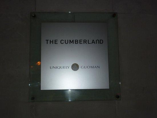 The Cumberland: Eingang