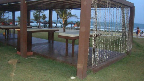 Enotel Acqua Club - Porto de Galinhas: Mesa de Massagens, com vista pro mar