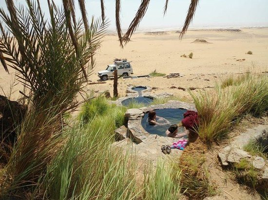 Farafra, Egypt: one of the magic springs