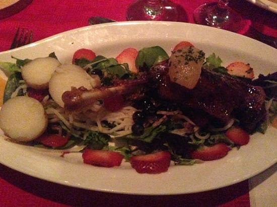 Restaurant Le Chou-Bruxelles : Canard