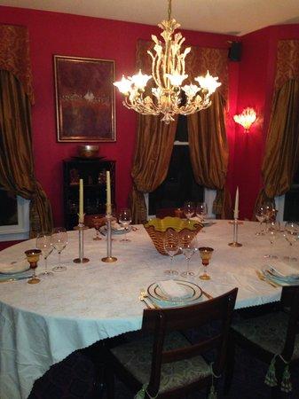 Inn at Moler's Crossroads : Dining Room