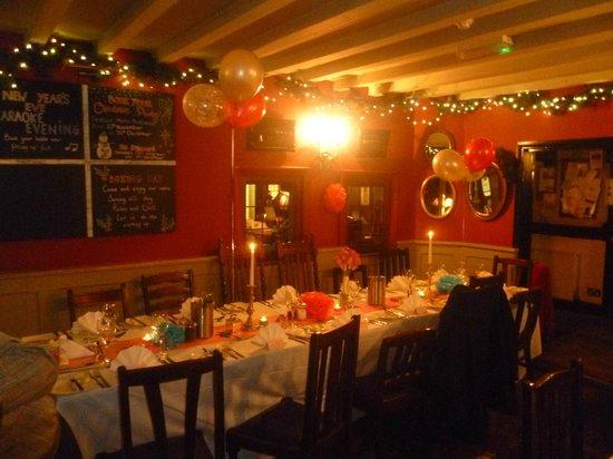 The Bull Inn Restaurant: Dinning Room