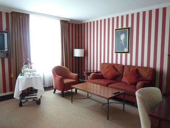 Hotel Dukes' Palace Bruges: coin salon
