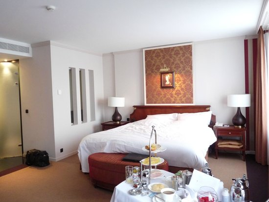 Hotel Dukes' Palace Bruges: chambre