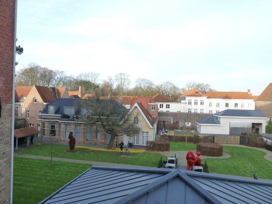 Hotel Dukes' Palace Bruges: vue de la chambre