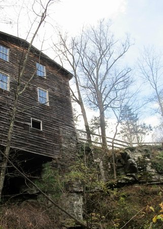 Shinglekill Bed and Breakfast : The backside of the mill