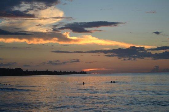 Negril Beach Club: Sunset