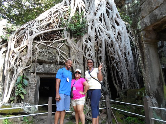 Active Travel Indochina day tours : Tomb Raider Temple Cambodia