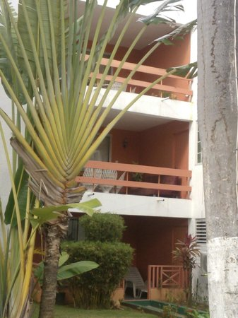 Negril Beach Club : 2nd floor balcany